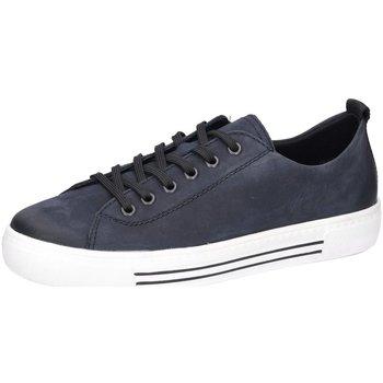 Schuhe Herren Sneaker Low Remonte Dorndorf Schnuerschuhe Schnürhalbschuh D0900-14 blau