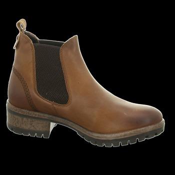 Schuhe Damen Low Boots Black Stiefeletten 222,258,257 264547000/458 braun