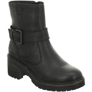 Schuhe Damen Low Boots Idana Stiefeletten 254501008 schwarz
