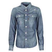 Kleidung Damen Hemden G-Star Raw KICK BACK WORKER SHIRT WMN L\S Blau