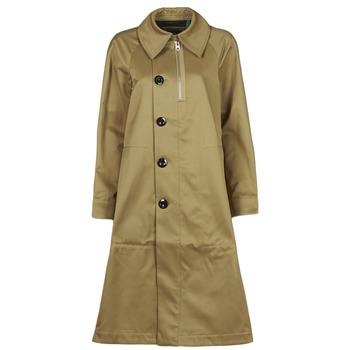 Kleidung Damen Trenchcoats G-Star Raw TRENCH WMN Beige
