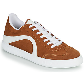 Schuhe Herren Sneaker Low André POLO Braun