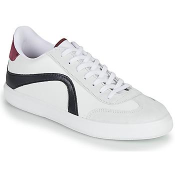 Schuhe Herren Sneaker Low André POLO Weiss
