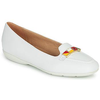 Schuhe Damen Ballerinas Geox D ANNYTAH Weiss