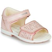 Schuhe Jungen Sandalen / Sandaletten Geox B VERRED Rose