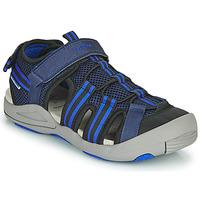 Schuhe Sandalen / Sandaletten Geox JR SANDALE KYLE Blau