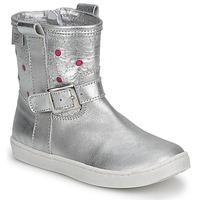 Schuhe Mädchen Boots Pinocchio  Silber