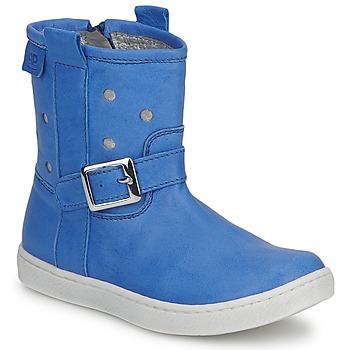 Schuhe Mädchen Boots Pinocchio RABIDA Blau