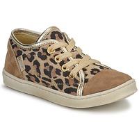 Schuhe Mädchen Sneaker Low Pinocchio  Braun