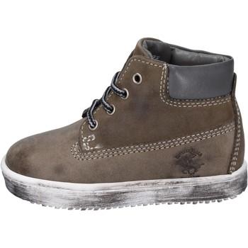 Schuhe Jungen Boots Beverly Hills Polo Club stiefeletten nubukleder grau