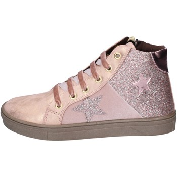 Schuhe Mädchen Sneaker Asso sneakers kunstleder pink