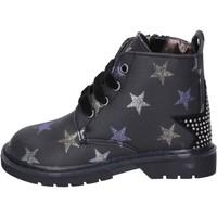Schuhe Mädchen Low Boots Asso BK218 schwarz