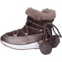 Schuhe Mädchen Low Boots Asso BK220 Beige