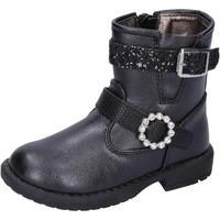Schuhe Mädchen Low Boots Asso stiefeletten kunstleder schwarz