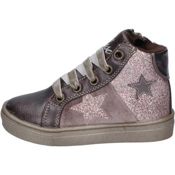 Schuhe Mädchen Sneaker Asso BK224 Bronze