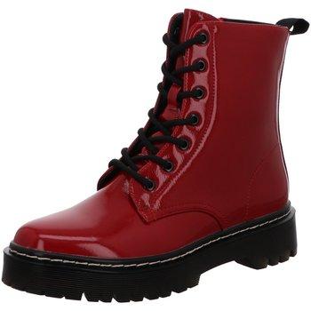 Schuhe Damen Boots La Strada Stiefeletten 1988056-1330 rot