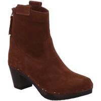 Schuhe Damen Low Boots Softclox Stiefeletten S3526 GHALIA braun