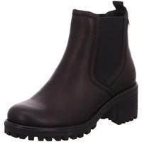 Schuhe Damen Boots Carmela Stiefeletten Schwarzer Chelsea Boot 67403SCHWARZ schwarz