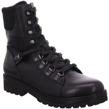 Schuhe Damen Boots Regarde Le Ciel Stiefeletten BRANDY 08 5415 BLACK schwarz