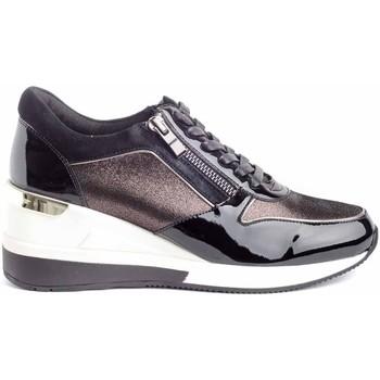 Schuhe Damen Sneaker Low Stephen Allen 2077-5 Schwarz
