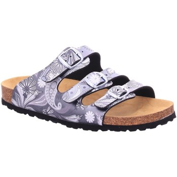 Schuhe Damen Pantoffel Lico NV 560237 blau