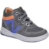 Schuhe Jungen Sneaker High Richter Schnuerschuhe Grau Velourleder Kleinkind 1346-8111-6401 grau