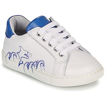 Schuhe Jungen Sneaker Low GBB KARAKO Weiss