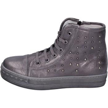 Schuhe Mädchen Sneaker High Eb BK245 Grau