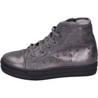 Schuhe Mädchen Sneaker High Eb BK246 Grau