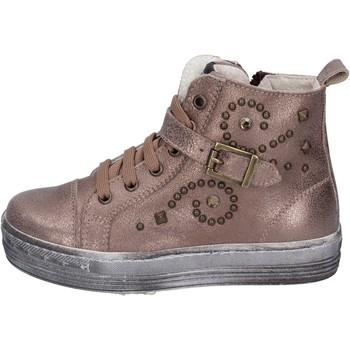 Schuhe Mädchen Sneaker Low Eb BK247 Braun