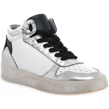 Schuhe Damen Sneaker High At Go GO DUCK ARGENTO Grigio