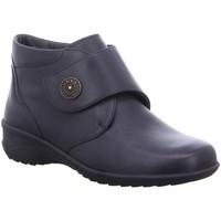 Schuhe Damen Slipper Solidus Slipper Karo PERL/SERENITY anthr/ K 42016 00701 schwarz