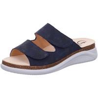 Schuhe Damen Pantoffel Ganter Pantoletten Holly 2002433500 blau
