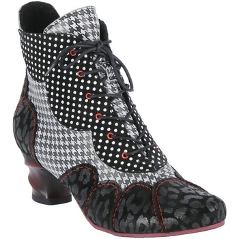 Schuhe Damen Low Boots Simen Stiefeletten 3176A schwarz
