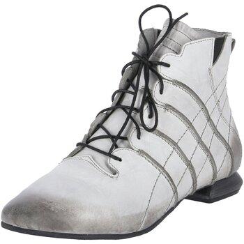 Schuhe Damen Boots Simen Stiefeletten 2851A grau