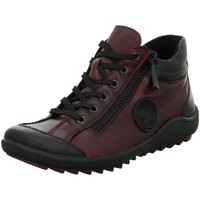 Schuhe Damen Sneaker High Remonte Dorndorf Schnuerschuhe R1477-35 schwarz