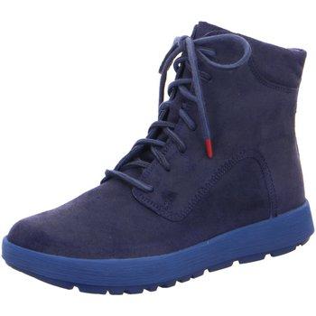 Schuhe Jungen Boots Think Schnuerstiefel Comoda 000101-8000 blau