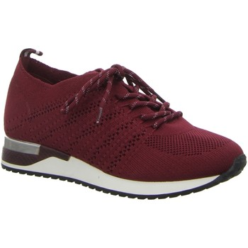 Schuhe Damen Sneaker Low Pep Step Schnuerschuhe Schnürhalbschuh,BORDEAUX 236805073-5 rot