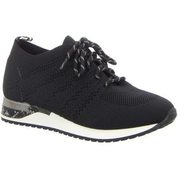 Schuhe Damen Sneaker Low Pep Step Schnuerschuhe Schnürhalbschuh,BLACK 236805073-0 schwarz