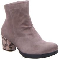 Schuhe Damen Boots Think Stiefeletten Drawi 3-000013-3000 grau