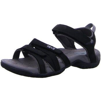 Schuhe Damen Wanderschuhe Teva Sandaletten TIRRA LEATHER W`S 9097-513 schwarz