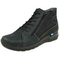 Schuhe Damen Sneaker High Wolky Stiefeletten WHY 0660611 000 schwarz
