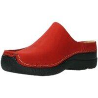 Schuhe Damen Pantoletten / Clogs Wolky Pantoletten Seamy Slide 0625016-505 rot