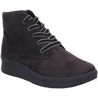Schuhe Damen Boots Semler Stiefeletten SAMT-CHEVRO I65063042/007 grau