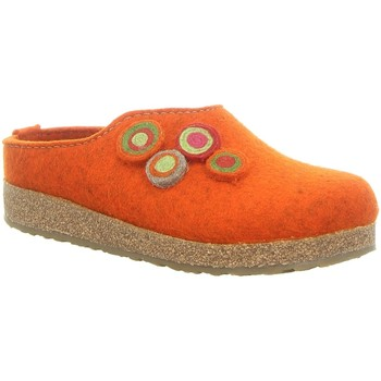 Schuhe Damen Hausschuhe Haflinger Kanon 731023-243 rost orange