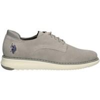 Schuhe Herren Derby-Schuhe U.s Polo Assn 4139S9/S3 geschnürtes Harren GRAU GRAU