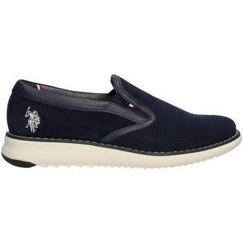Schuhe Herren Slipper U.s Polo Assn 4075S0/S1 Halbschuhe Harren BLAU BLAU