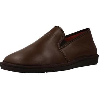 Schuhe Herren Hausschuhe Nordikas 7517 Brown