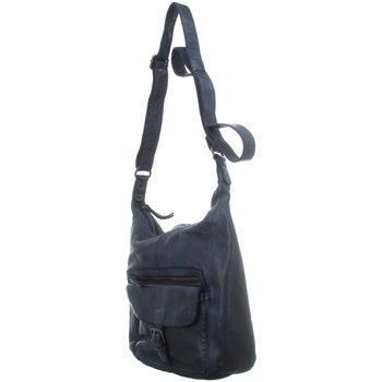 Taschen Damen Handtasche Bear Design Mode Accessoires CL 32612 BLAUW blau