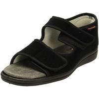 Schuhe Herren Sandalen / Sandaletten Fischer Schuhe Offene 0563-90 schwarz